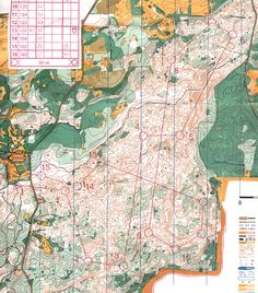 Day 1 Red course, 2009 US Champs. One of my favorite maps ever, wish I could've made it to this event!