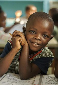 Schoolchild from Mozambique