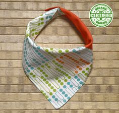 Baby bandana bib and scarf made of 100 GOTS by Melimebabybeeshop, $16.00