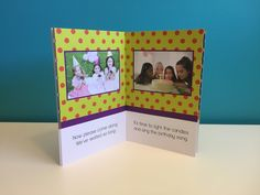 Birthday Photo Story Book | Personalized Birthday Book | Personalized Children's Book