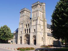 Abbey church of the Trinity - Caen