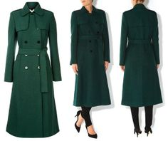 Hobbs Persephone coat worn by Catherine, Duchess of Cambridge on St. Patrick's Day 2014.