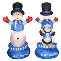"64"" Rot Snowman/Penguin"