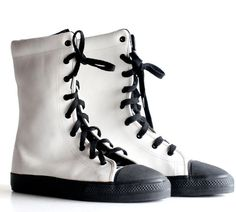 // Vintage Norma Kamali sneakers