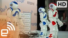 Dancing Nao Robots | Engadget Expand