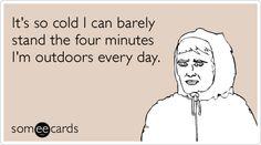 I hate winter Haha Funny, Funny Cute, Funny Stuff, Funny Humor, Hilarious Memes, Drunk Humor, Ecards Humor, Nurse Humor, Merry Christmas