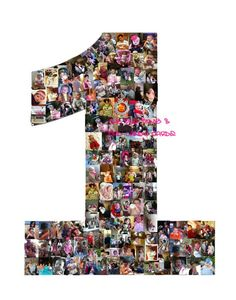Babys First Year Custom Photo Collage  ANY Birthday by TheBudBomb, $18.00