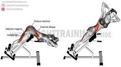 Twisting hip extension exercise https://www.kettlebellmaniac.com/kettlebell-exercises/