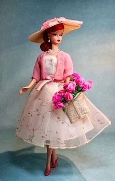 todos a tomar un te con la nueva barbie