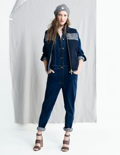 Madewell Fall 2015 Lookbook -- this jumpsuit! Those shoes!