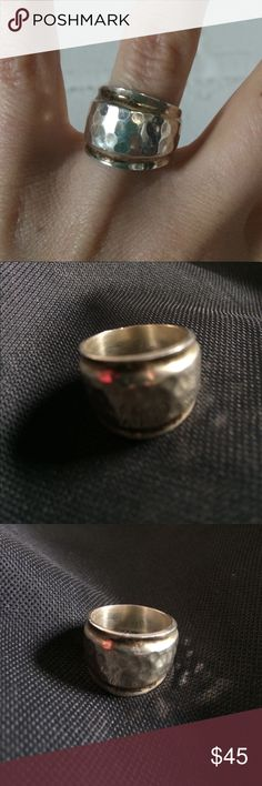 Vintage Sterling Silver Ring Stamped 925 Vintage Sterling Silver Ring. My Grandma LOVED jewelry. This is one from her collection. Don't worry I kept a few for myself ☺️ Jewelry Rings
