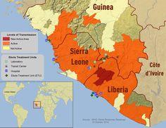 Ebola landen