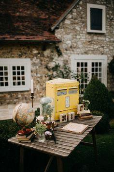 Rose /& Sage double face Pays Handmade Bunting Cottage Cadeau Ferme
