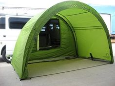 ArcHaus Modular Adaptable Side / Rear Vehicle Tent & pictures of side tents on vans - Google Search Thinking of getting ...