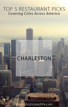 """The Blog Series """"Top 5 Restaurant Picks"""" continues with Charleston restaurants! Read what a Charleston blogger had to say about which restaurants and foods you should try in Charleston South Carolina!"""