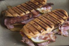 What we have been up to in the kitchen Cuban Sandwich, Sandwiches, Pork, Meat, Kitchen, Kale Stir Fry, Cuisine, Kitchens, Paninis