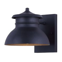 Shop for Canarm Winston High Integrated LED Outdoor Wall Sconce - Black . Get free delivery On EVERYTHING* Overstock - Your Online Outdoor Lighting Store! Modern Outdoor Wall Lighting, Black Outdoor Wall Lights, Outdoor Wall Lantern, Outdoor Walls, Led Lantern, Indoor Wall Sconces, Outdoor Wall Sconce, Wall Sconce Lighting, Farmhouse Wall Sconces