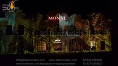 Building Projection Mapping At Monal marquee  .