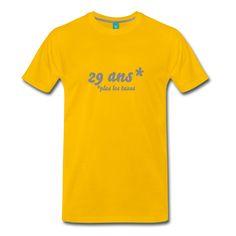 29 ans...plus les taxes - T-shirt Premium Homme