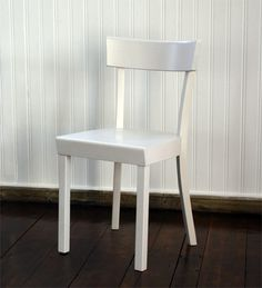 frankfurt chair, white - by Stoelcker