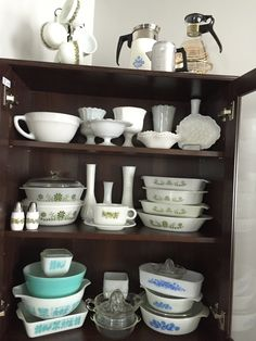 Pyrex Display, China Cabinet, Storage, Furniture, Home Decor, Purse Storage, Decoration Home, Chinese Cabinet, Room Decor