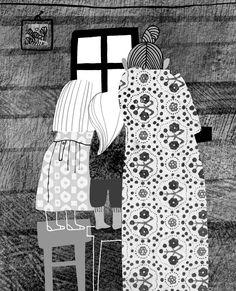 polska ilustracja dla dzieci: Zapowiedź - 8 + 2 i domek w lesie
