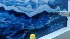 Hướng dẫn vẽ tranh tường 3d phong cảnh biển - p2_0908766656_0973561366