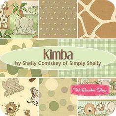 Kimba Fat Quarter Bundle Shelly Comiskey for Henry Glass Fabrics