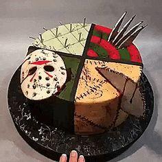 Horror Cake Torte Desserts Treats Birthday Scary Cakes