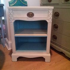 Annie Sloan, Chalk Paint, Provence, Nightstand, Grey, Furniture, Instagram, Home Decor, Crates