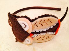 Let+fall+begin+Hand+stitched+felt+owl+headband+by+Naneville