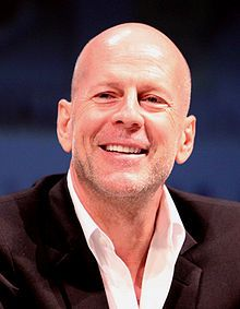Bruce Willis.  Moonlighting to Red.  He has helped make bald beautiful.