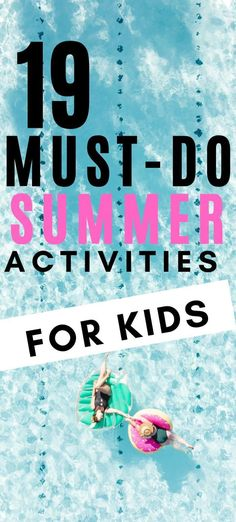 The Best Summer Activities For Kids With Free Printable Checklist New Parent Advice, Parenting Advice, Kids And Parenting, Summer Activities For Toddlers, Family Activities, Summer Bucket, Summer Fun, Summer Checklist, Natural Parenting