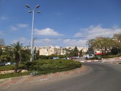 A look from Ziv towards Berl Street and Ramat Chen at the background on the mountain   photo mirjam Bruck-Cohen