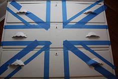 paint union jack furniture