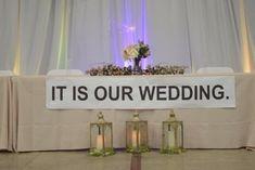 Tent Wedding, Wedding Signs, Wedding Table, Diy Wedding, Wedding Reception, Dream Wedding, Wedding Day, Wedding Stuff, The Office Wedding
