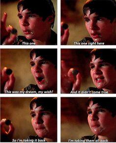 One of the best Goonies scenes!