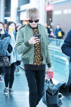 BamBam - Got7 Got7 Bambam, Airport Style, Airport Fashion, Bomber Jacket, Denim, Boys, Jackets, Idol, Korean