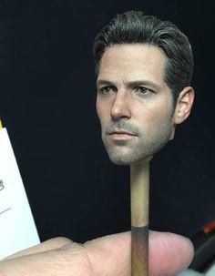 [HOT TOYS] Teste de pintura facial da figura do Homem-Formiga (Paul Rudd) por JC. Hong