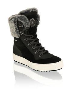 Polaris Veloursleder Snowboot   schwarz   humanic.net High Tops, High Top Sneakers, Shoes, Fashion, Exclusive Shoes, Black, Women's, Moda, Zapatos
