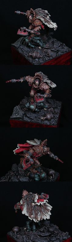40k - Angron,The Red Angel by Kadiel