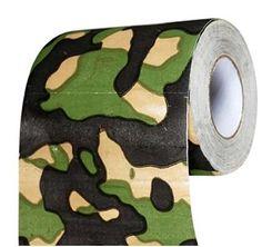Camouflage Bathroom Rolls