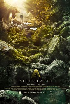 After Earth | Viva a natureza no pôster da ficção científica futurista de M. Night Shyamalanclose