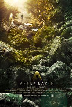 After Earth | Viva a natureza no pôster da ficção científica futurista de M. Night Shyamalanclose