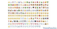 Con estos emoticones de emoji puedes usarlo en comentarios, tu perfil y chat de facebook