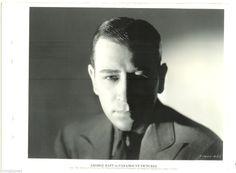 George Raft Original Vintage 1935 DBW KEY Book Portrait Photo THE Glass KEY | eBay