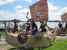 how to make a viking ship cardboard - Google Search