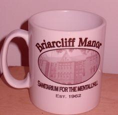American Horror Story  Asylum Briarcliff Manor mug by kookieBazaar, £4.99