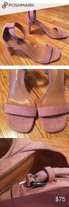 Derek Lam 10 Crosby Pink Suede Sandals Blush pink suede. Brand new, worn on store floor only. A little dusty from being on the sales floor. 10 Crosby Derek Lam Shoes Sandals