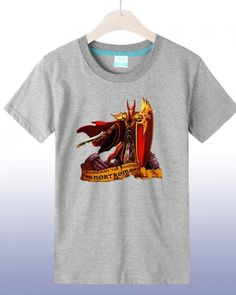 Archmage Antonidas hero tshirt Dota 2 white short sleeve tee for men- Dota 2 T Shirt, Dota2 Heroes, Defense Of The Ancients, Short Sleeve Tee, Video Game, White Shorts, Tees, Shirts, Anime